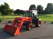 2003 Kubota L5030HST 4WD Tractor,  Loader,  Cab