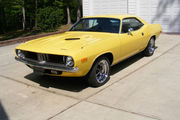 1972 Plymouth Barracuda E body