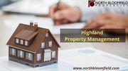 Professional Highland Property Management Company