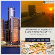 Detroit Movers for all your Local & Long Distance Moving Needs